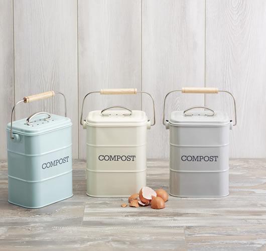 Living Nostalgia Vintage Compost Bin